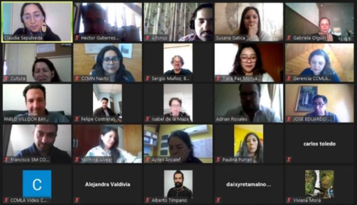 Colaboracion en red cultura